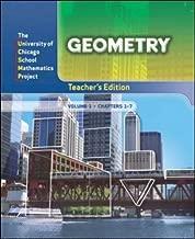 Geometry: Teacher's Edition Volume 1 (UCSMP PRE TRANSITION MATHEMATICS)