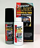 Forever Car Care Products FB080 BLACK Bumper and Trim Reconditioner