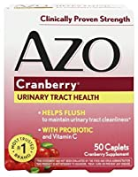 Azo - クランベリーの尿道健康 - 50カプレット
