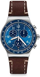 Swatch Casual Blue Chronograph Quartz Blue Dial Men's Watch YVS466