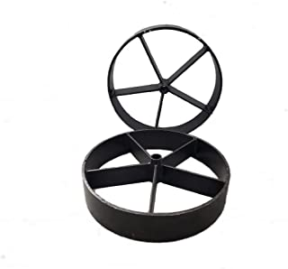 Best metal wheels for bbq pits Reviews