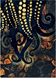 ZhuSen Schlange Tintenfisch Qualle Tintenfisch Wandkunst