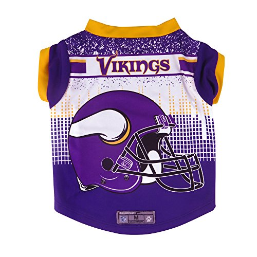 NFL Minnesota Vikings Pet Performance T-Shirt, Medium