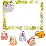"""Sloth Magnets for Fridge Refrigerator Magnetic Photo Frame 4""""×6"""" Funny Decoration Locker Whiteboard Gifts for Kids Toddlers Adults"""