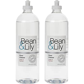 Bean & Lily Floor Cleaner - Cedar & Cypress - 24 oz - pH Neutral Natural Floor Cleaner - Pet-safe