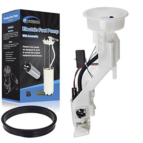 POWERCO Electric Universal Gas E8412M Fuel Pump Module Replacement For X5 3.0L/06-00 4.4L/03-02 4.6L W/Sending Unit