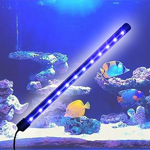 ECMQS Aquarium LED Licht Tauchbar Wasserdicht Bar Streifen Lampe EU Stecker