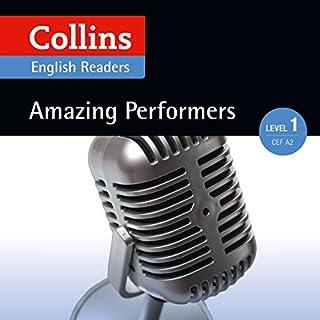 Amazing Performers: A2 (Collins Amazing People ELT Readers) Titelbild