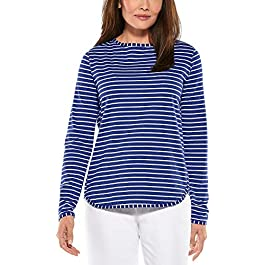 Coolibar UPF 50+ Women's Heyday Side Split Shirt –...