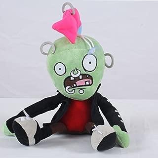 1,99 Shop Plants vs. Zombies 2018 PVZ Figures Plush Baby Staff Toy Stuffed Soft Doll (Punk)