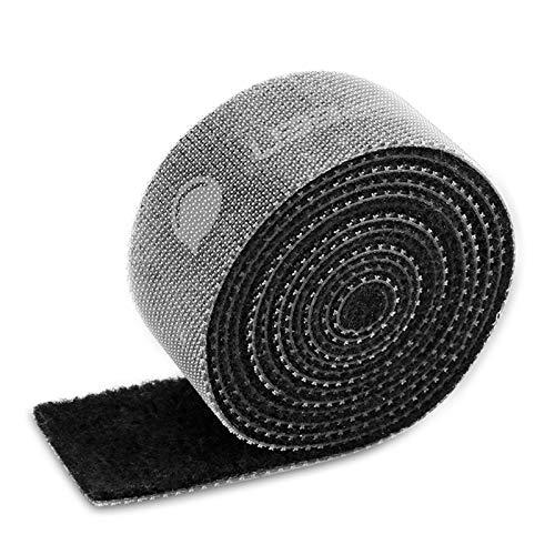 UGREEN Abrazaderas para Cables, 5M Cinta de Velcro para Cables, Tiras de Velcro para Organizar Cables Reutilizable, Cinta de Lazo 20 mm de Ancho, Organizador de Cable para Fijar, Atar,Apretar Cables