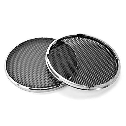 Wnuanjun 2 stücke Audio-Lautsprecher Schutzhülle 1/2 / 3/4/5/6,5 Zoll Schutznetzgitter DIY für Heimkino (Größe : 1Inch)