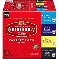 54-Pack Community Coffee Single Serve Cups