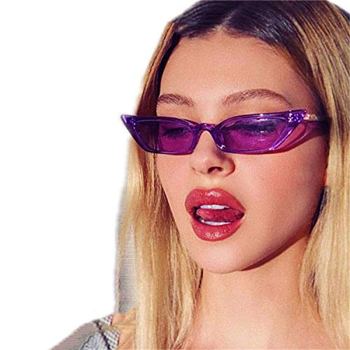 WERERT Gafas de Sol Deportivas,Women Cat Eye Sunglasses Small Designer Fashion Retro Ladies Sun Glasses UV400