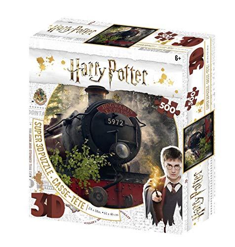 Harry Potter The Hogwarts Express Super 3D 500 Piece Jigsaw Puzzle