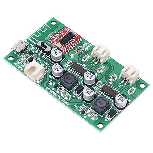 Placa amplificadora de audio Placa amplificadora de potencia Bluetooth Placa amplificadora de potencia HF69B para altavoces Bluetooth para impedancia de altavoz de 4 ohmios / 6 ohmios / 8