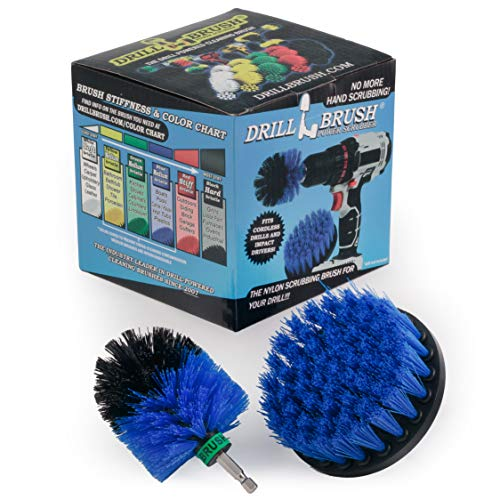Kayak - Cleaning Supplies - Drill Brush - Raft - Boat - Canoe - Inflatable - Jet Ski - Boat Accessories - Hull Cleaner - Algae - Pond Scum, Oily Residue, Barnacles, Oxidation - Spin Brush