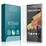 IQ Shield Matte Screen Protector Compatible with Sony Xperia Z5 Premium Anti-Glare Anti-Bubble Film