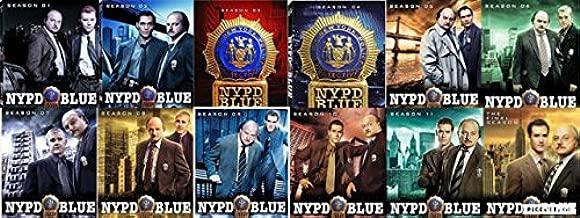 NYPD Blue Seasons 1-12 Complete Series DVD's Set Season 1 2 3 4 5 6 7 8 9 10 11 12