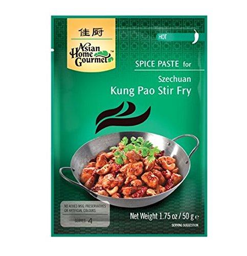 ASIAN HOME GOURMET 50g Gewürzpaste für Szechuan Kung Pao Pfanne