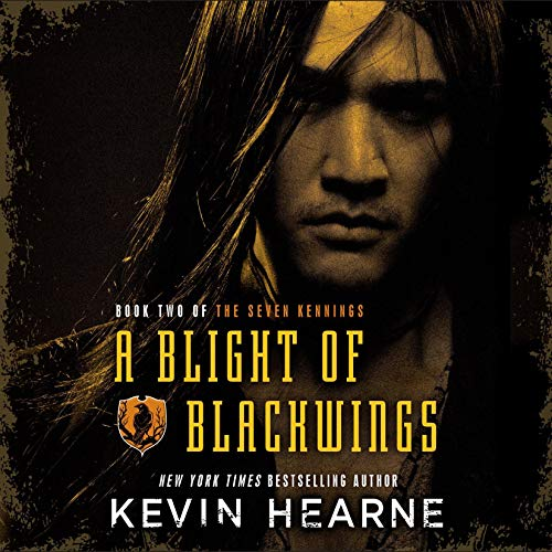 A Blight of Blackwings audiobook cover art