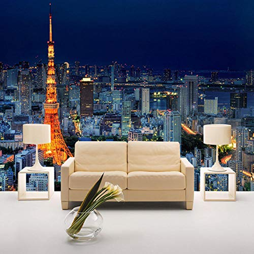 Muurschildering fotobehang poster modern enorme afbeelding woonkamer slaapkamer tienerkamer decoratie, stadschiteur van Eiffeltoren 200x150cm