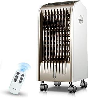 Wadiy Virtper Ventilador de Aire Acondicionado Blanco Control Remoto hogar móvil 3 velocidades de Aire de enfriamiento Ajustable -Pequeños Accesorios