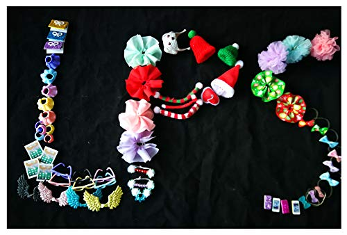 jwrac (USA) LPS Accessories Lot Bow Skirt Glasses Wings Fit LPS Cat and Dog Collie Great Dane Dachshund Cocker Spaniel