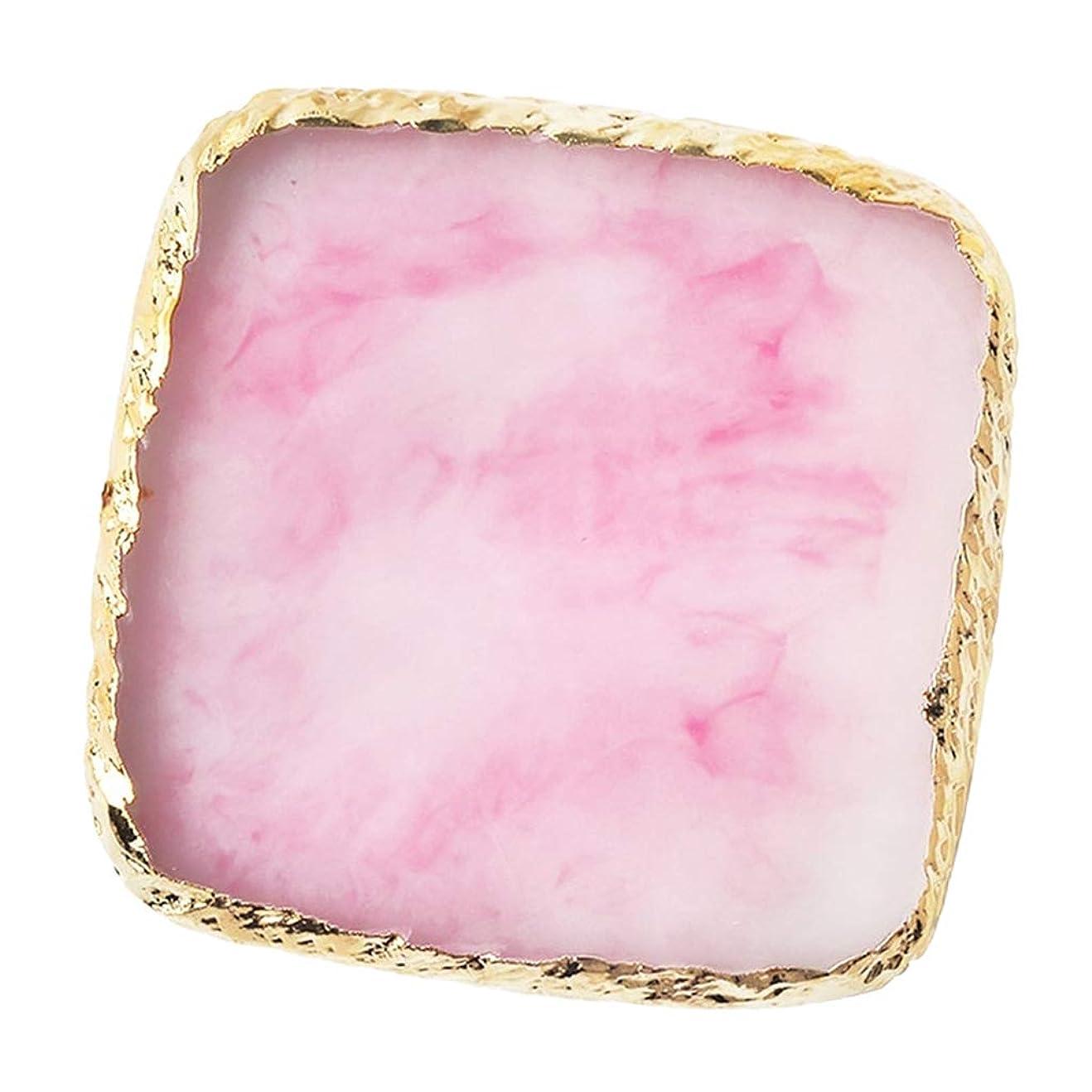 全体島電化するIPOTCH ネイルアート カラーブレンド ミキシングパレット 樹脂製 6色選べ - ピンク
