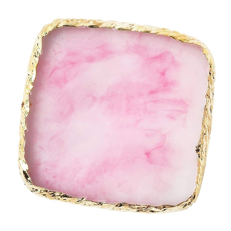 不一致媒染剤ペインギリックIPOTCH ネイルアート カラーブレンド ミキシングパレット 樹脂製 6色選べ - ピンク