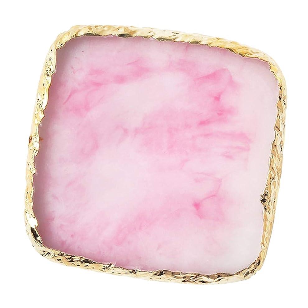 議論する大脳製造業IPOTCH ネイルアート カラーブレンド ミキシングパレット 樹脂製 6色選べ - ピンク
