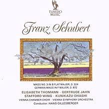 Schubert: Mass, No. 3 / German Mass by Thomann/Jahn/Wing/Gillesberger (0100-01-01)