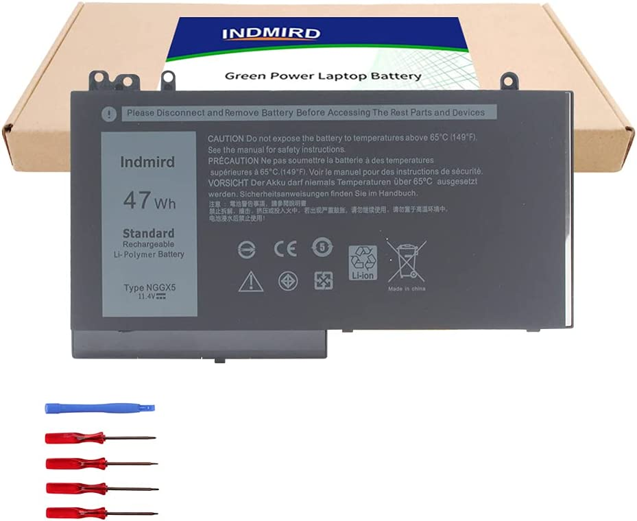 DELL NGGX5 Laptop New sales Battery Replacement Popular shop is the lowest price challenge Dell 12 for Latitude E5270