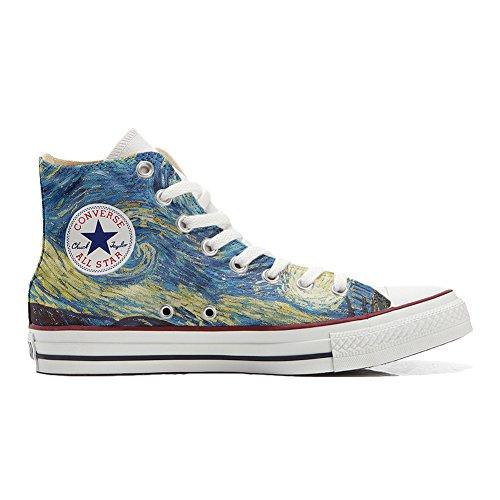 Scarpe Donna Sneakers - Original USA - Personalizzate (Prodotto Artigianali) Van Gogh - TG38