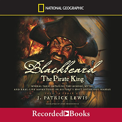 Blackbeard the Pirate King audiobook cover art