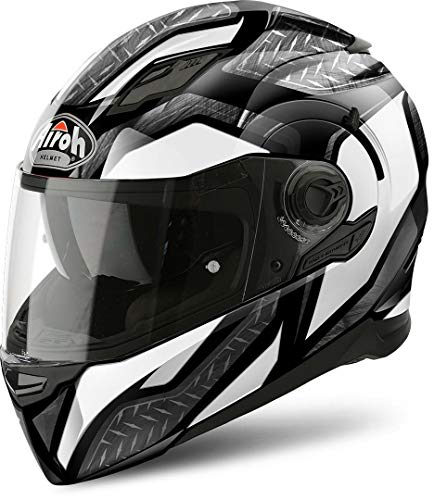 Airoh Helm Movement S Steel White Gloss Xl
