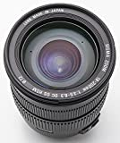 Sigma 18-200mm DC II OS HSM - Objetivo para Canon (18-200mm, f/3.5-6.3, AF, estabilizador óptico), color negro