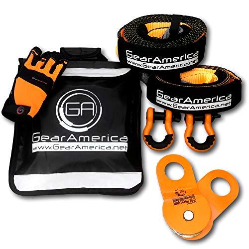 Kit de Recuperación Off-Road GearAmerica | Correa de