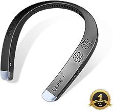 Neckband Wearable Speaker,LIUHE Wireless Bluetooth Speaker,Portable Personal Sport Speaker,Listen to Music, Watch TV with Theater Quality 3D Sound, Hands-Free Phone Calls (Titanium Black)