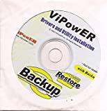 ViPowER Drivers and Utility Installation CD Software