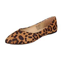 dda1334f3cb GUGUYeah Women s Fashion Casual Pointed Toe Flats Shoes
