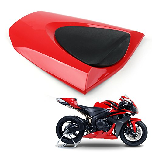 Artudatech Motorrad Soziusabdeckung Sitzkappe Verkleidung Heckabdeckung Rücksitzbezug Rear Seat Cowl Fairing Tail Cover für HON-DA CBR 600 RR CBR600RR 2007-2012