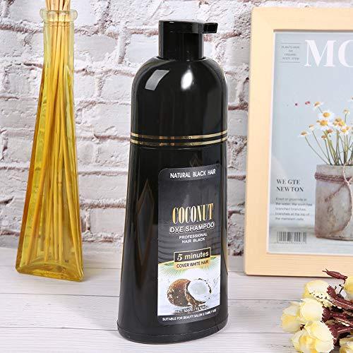 Champú, Champú eficaz para cabello negro, Nutrición familiar suave natural para cabello femenino