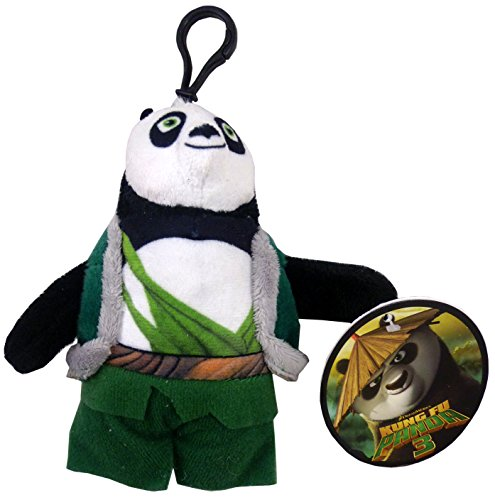 dreamworks 11cm Kung Fu Panda Suave del Bolso del Juguete Clip - LI Carácter