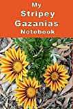 My Stripey Gazanias Notebook: Brighten up your day with this striped flower composition notebook. Great for staying on top of your 'to do' lists or general ideas for projects.