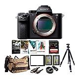 Sony Alpha a7RII Mirrorless Camera w/Vanguard Backpack & 128GB SD Card Bundle