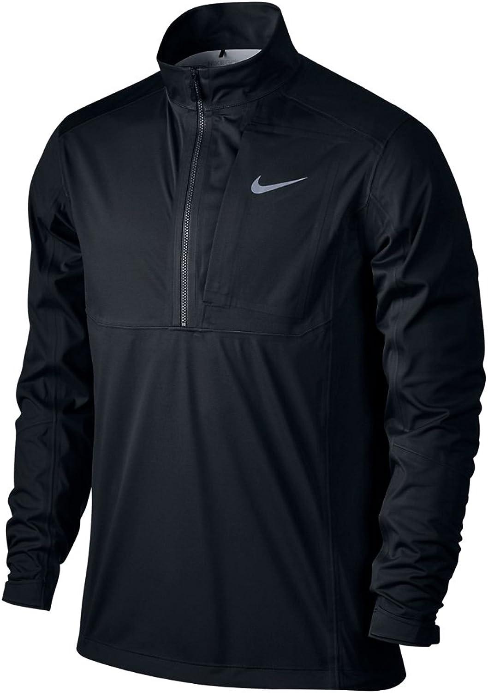 Nike Storm-Fit Steam 1 2-Z Jkt Long Sleeve Jacket, Black Grey Silver