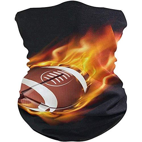 Stirnband American Football im Feuer Headwear Yoga Band Sport Turban/Kopftuch/Schweißband für Unisex Outdoor-Aktivitäten