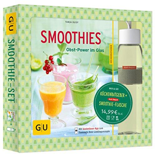 Smoothie-Set: Obst-Power im Glas und in der Flasche: Mit Rosti-Mepal-Trinkflasche (500 ml) (GU BuchPlus)