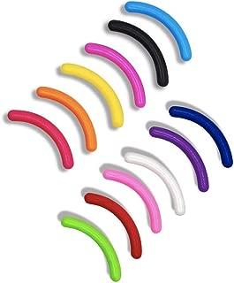 Leline's Eyelash Curler Refill Pads, 12pcs Rubber Replacement Pads for Standard Eyelash Curler